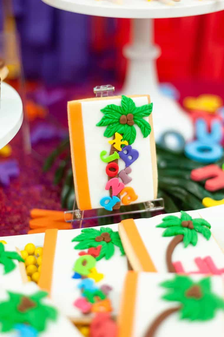 chicka chicka boom boom 20 - Chicka Chicka Boom Boom Book Party- 2nd Birthday Party Ideas!