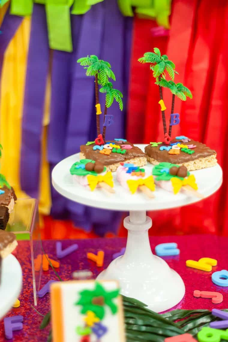 chicka chicka boom boom 22 - Chicka Chicka Boom Boom Book Party- 2nd Birthday Party Ideas!