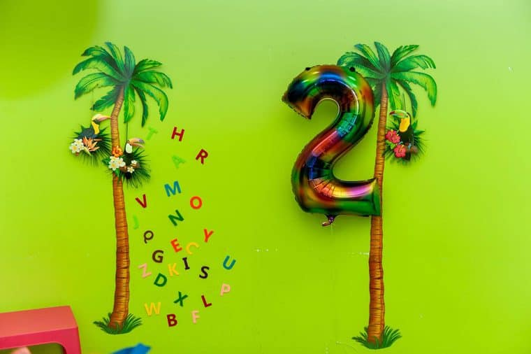 chicka chicka boom boom 3 - Chicka Chicka Boom Boom Book Party- 2nd Birthday Party Ideas!