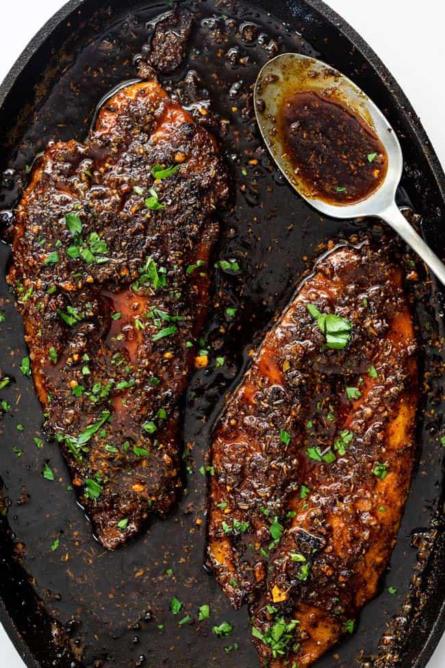 Blackened fish 4 - Blackened Fish Recipe