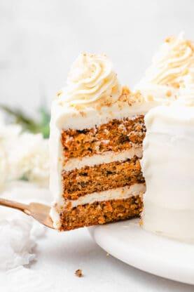 Carrot Cake 10 277x416 - Carrot Cake Recipe