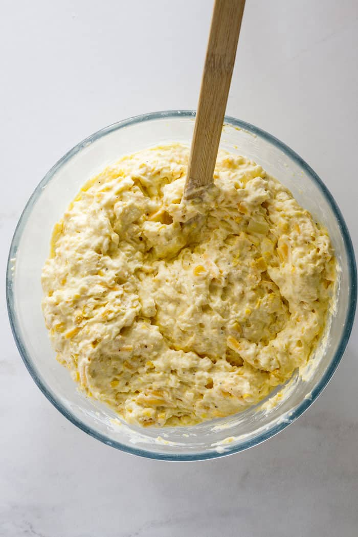 Corn spoonbread 3 - Corn Spoonbread