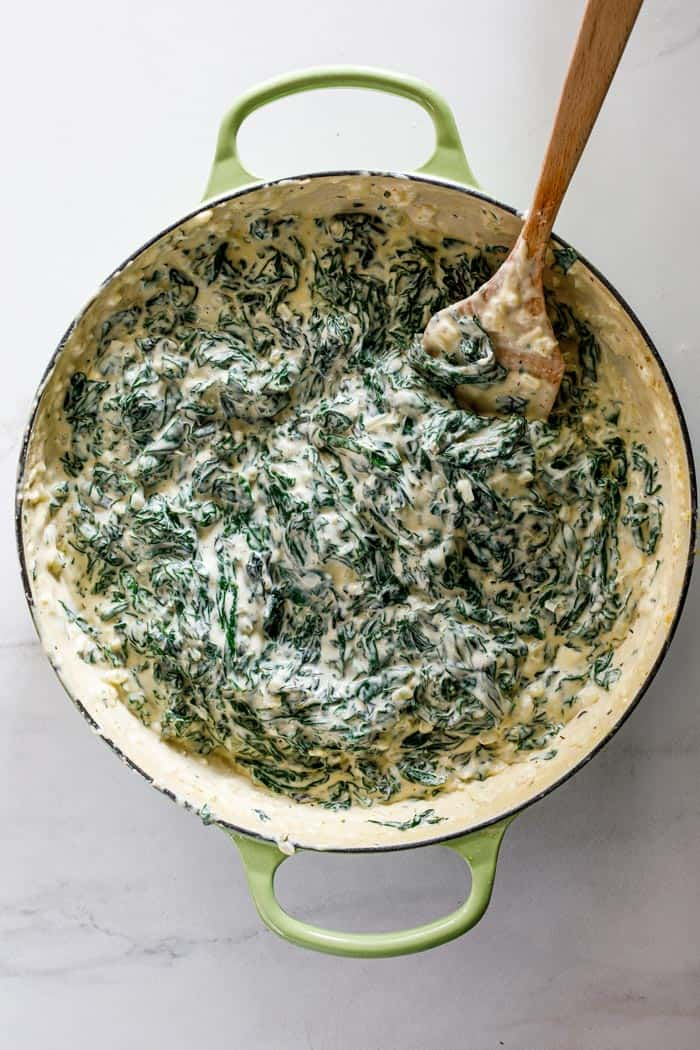 Creamed spinach 3 - Creamed Spinach