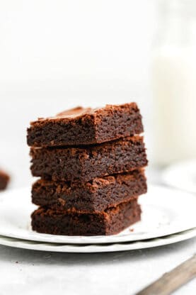 Fudgy Chewy Brownies 5 277x416 - Fudgy Chewy Brownies (The BEST!)
