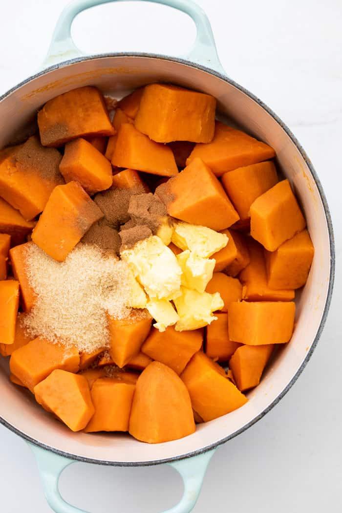 Mashed sweet potatoes 2 - Mashed Sweet Potatoes
