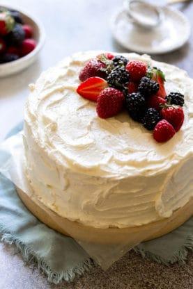 Devils Food Cake 2 277x416 - Swiss Meringue Buttercream