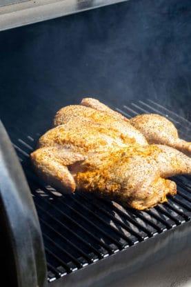 Spatchcock Grilled Chicken 2 277x416 - Marinated Grilled Spatchcock Chicken