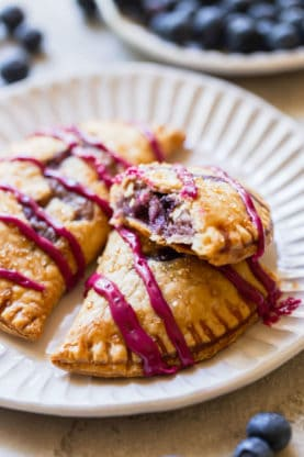 Blueberry Goat Cheese Hand Pies 5 277x416 - Blueberry Hand Pies