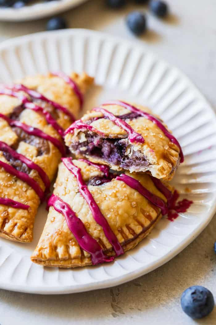 Blueberry Hand Pies - Grandbaby Cakes