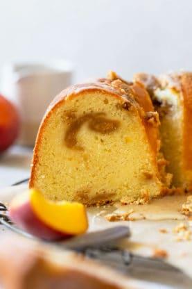 Peach Pound Cake 3 277x416 - Peach Pound Cake
