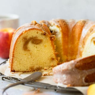 Peach Pound Cake 5 320x320 - Peach Pound Cake