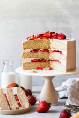 Strawberry Shortcake Cake 5 277x416 - Strawberry Shortcake Cake