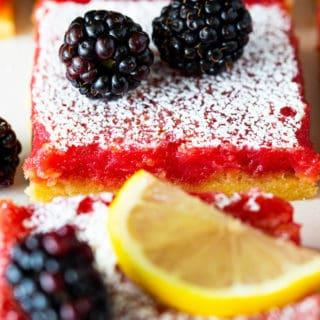 Blackberry lemon bars 6 320x320 - Blackberry Lemon Bars