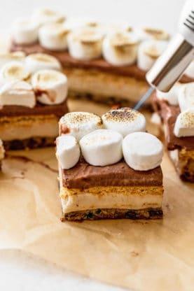 Smore Ice Cream Bar 1 277x416 - Frozen S'more Cookie Bars
