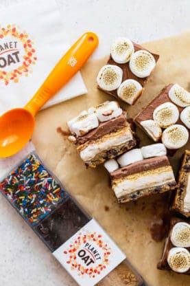 Smore Ice Cream Bar 4 277x416 - Frozen S'more Cookie Bars