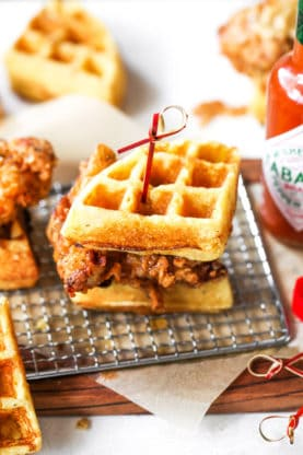 Chicken And Waffle Sliders 3low 277x416 - Chicken and Waffle Sliders