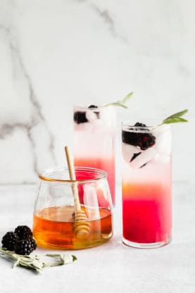 Honey Refresher 3 277x416 - Honey, Blackberry and Sage Refresher Mocktail