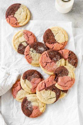 Neapolitan Cookies 10 277x416 - Neapolitan Cookies