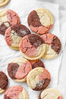 Neapolitan Cookies 5 277x416 - Neapolitan Cookies