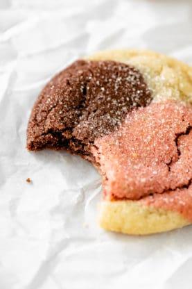 Neapolitan Cookies 8 277x416 - Neapolitan Cookies