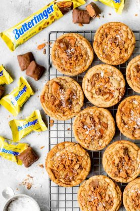 Butterfinger Brown Butter Cookies 1 277x416 - Butterfinger Brown Butter Cookies