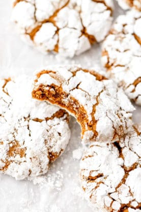 Gingerbread Crinkle Cookies 5 277x416 - Gingerbread Crinkle Cookies