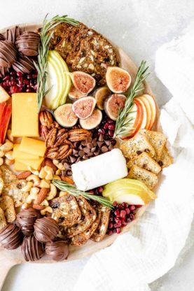 Grandbaby Cakes x Montchevre 1 15 277x416 - Dessert Board with Cranberry Chocolate Truffles