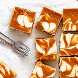 Pumpkin Swirl Cheesecake Bars 1 320x320 - Pumpkin Swirl Cheesecake Bars