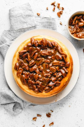 Butter Pecan Cheesecake 10 277x416 - Butter Pecan Cheesecake (With How To Video!)