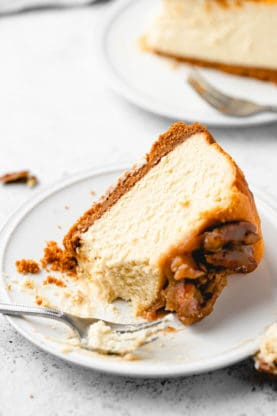 Butter Pecan Cheesecake 32 277x416 - Butter Pecan Cheesecake (With How To Video!)