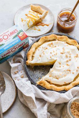 Caramel Pie Recipe 2 277x416 - Caramel Pie (With How To Video!)