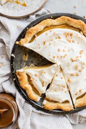 Caramel Pie Recipe 3 277x416 - Caramel Pie (With How To Video!)