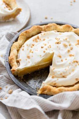 Caramel Pie Recipe 4 277x416 - Caramel Pie (With How To Video!)