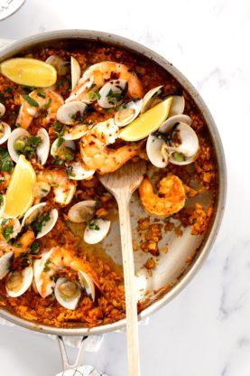 Seafood Paella 1 277x416 - Seafood Paella (Completely Keto!)