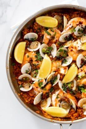 Seafood Paella 4 277x416 - Seafood Paella (Completely Keto!)