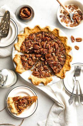 GBCakes SweetPotatoPecanPie Hero2 277x416 - Sweet Potato Pecan Pie (With How To Video)