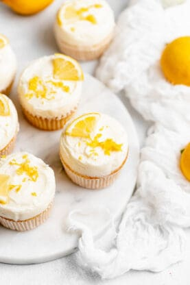 Lemon Cupcakes 3 277x416 - Best Lemon Cupcakes