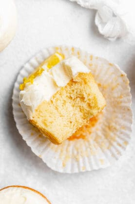 Lemon Cupcakes 5 277x416 - Best Lemon Cupcakes