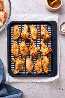 Jerk Honey Wings 3 277x416 - Honey Garlic Jerk Chicken Wings (Air Fried & Gluten Free)