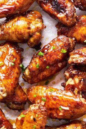 Jerk Honey Wings 5 277x416 - Honey Garlic Jerk Chicken Wings (Air Fried & Gluten Free)