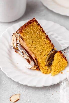 Pear Polenta Almond Cake 6 277x416 - Almond Cake with Pear and Polenta