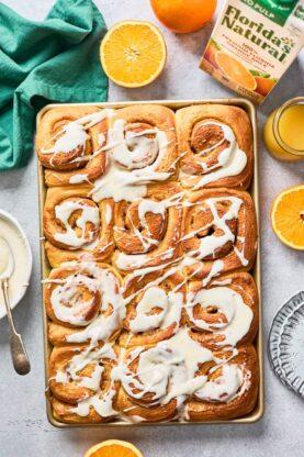 Orange Cinnamon Rolls 7 277x416 - Orange Cinnamon Rolls (Taste like a Mimosa!)