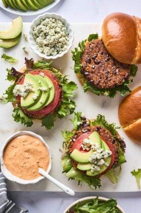 Black Bean Burgers 5 277x416 - Chipotle Black Bean Burgers