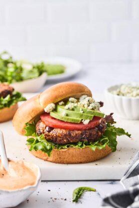 Black Bean Burgers 6 277x416 - Chipotle Black Bean Burgers