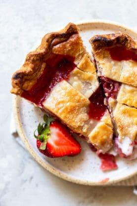 Strawberry Pie 4 277x416 - Strawberry Pie Recipe