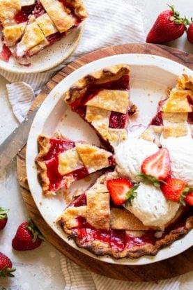 Strawberry Pie 6 277x416 - Strawberry Pie Recipe