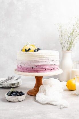 Blueberry Lemon Cake 1 277x416 - Blueberry Lemon Cake