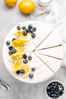 Blueberry Lemon Cake 4 277x416 - Blueberry Lemon Cake