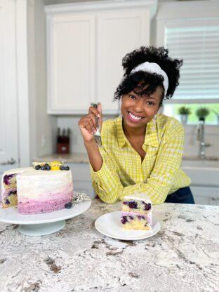 Blueberry Lemon Cake 8 312x416 - Blueberry Lemon Cake