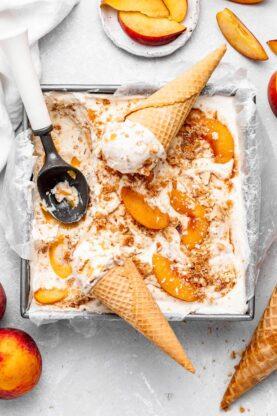 Peach Pie Ice Cream 8 277x416 - Peach Pie Ice Cream